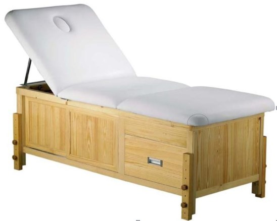 wooden massage bed 803